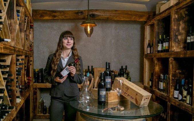 Wijnkelder van Hotel Margherita in Amalfi