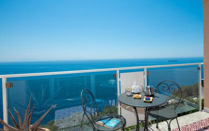 Blakon van een kamer van Hotel Margherita in Amalfi