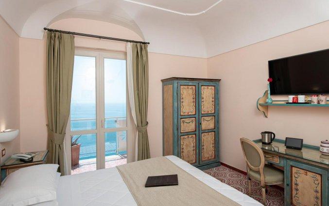 Tweepersoonskamer van Hotel Margherita in Amalfi