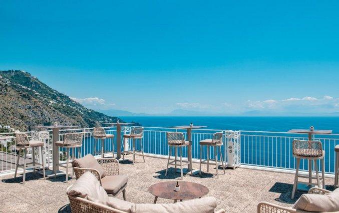 Dakterras van Hotel Margherita in Amalfi