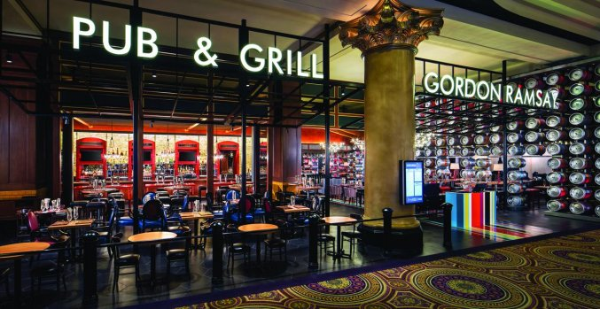 Bar van Hotel en Casino Caesars Palace in Las Vegas