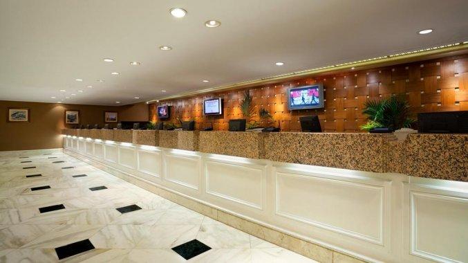 Receptie van Hotel Flamingo Las Vegas