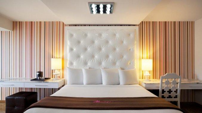 Tweepersoonskamer van Hotel Flamingo Las Vegas