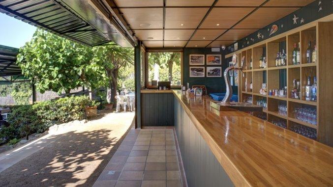 Bar van Appartementen Albamar in de Costa Brava