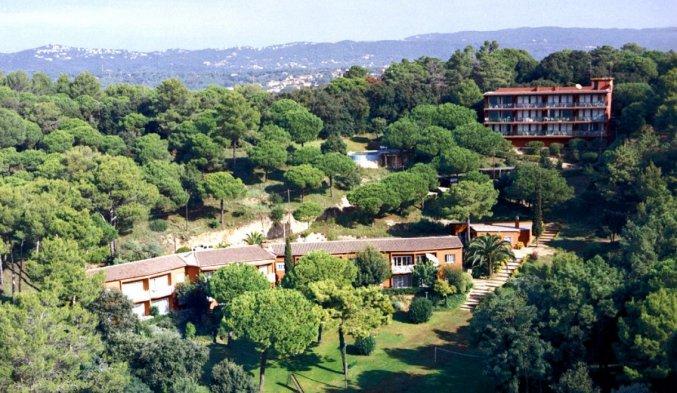 Uitzicht van Appartementen Albamar in de Costa Brava