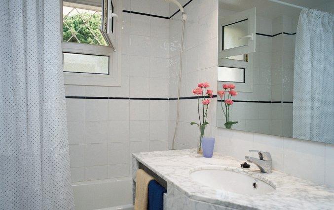 Badkamer van Appartementen Albamar in de Costa Brava