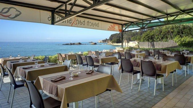Restaurant van Appartementen Albamar in de Costa Brava