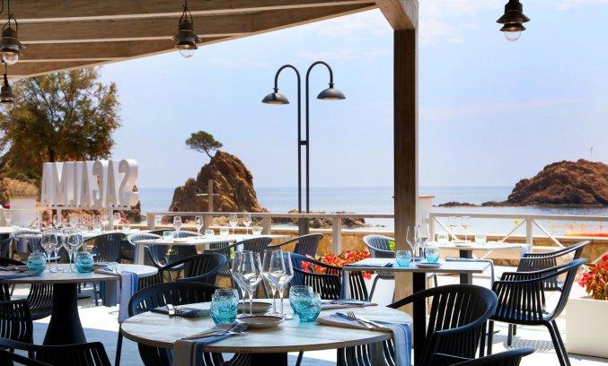 Restaurant van Hotel Golden Mar Menuda aan de Costa Brava
