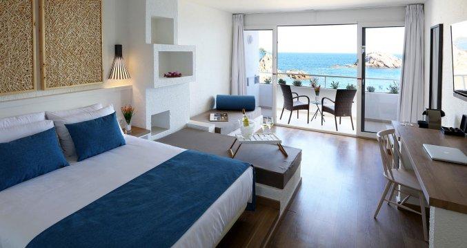 Tweepersoonskamer van Hotel Golden Mar Menuda aan de Costa Brava