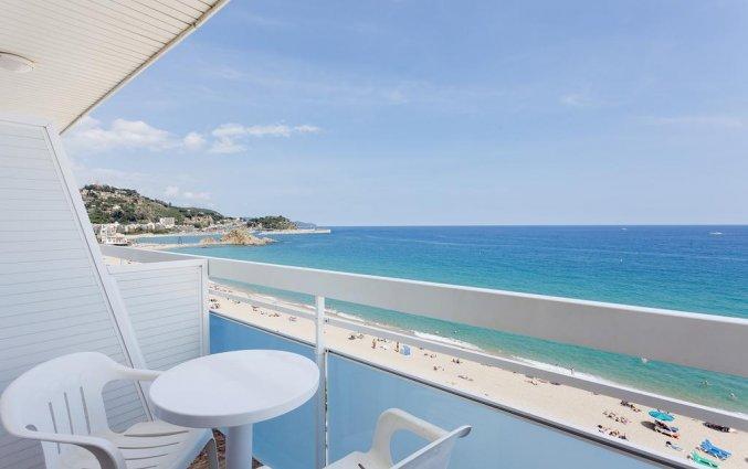Uitzicht van hotel Pi-mar in Costa Brava