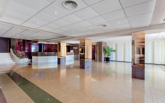 Lobby van hotel Pi-mar in Costa Brava