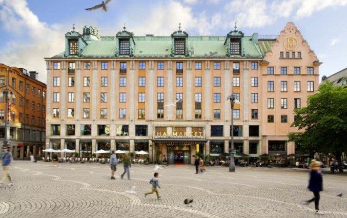 Buitenkant van Hotel Haymarket by Scandic Stockholm
