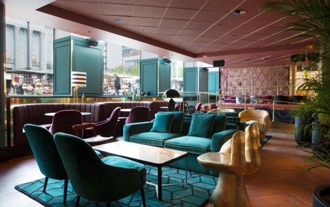 lounge van van Hotel Haymarket by Scandic Stockholm