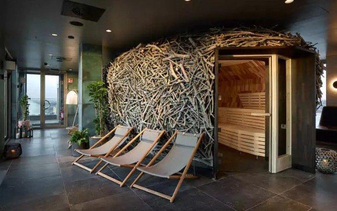 Welness met sauna hotel downtown Camper
