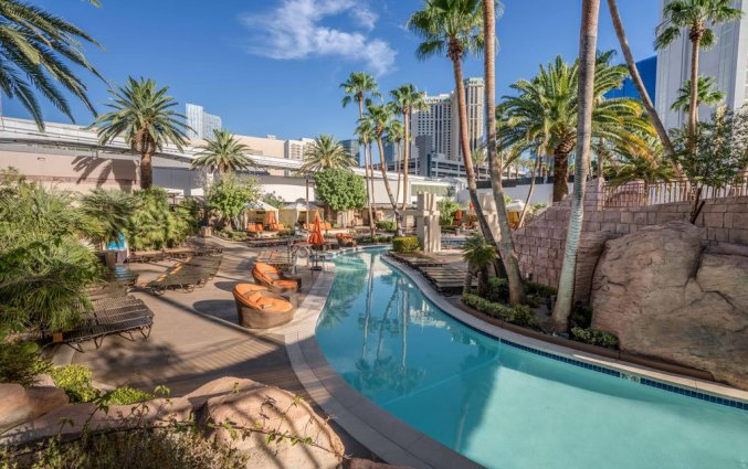 Zwembad van hotel MGM Grand