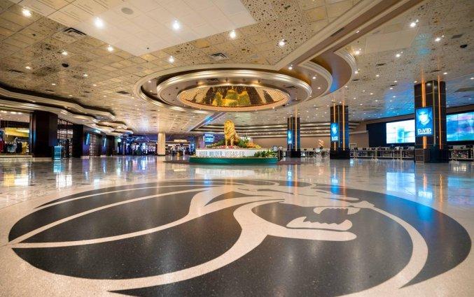 Receptie van hotel MGM Grand