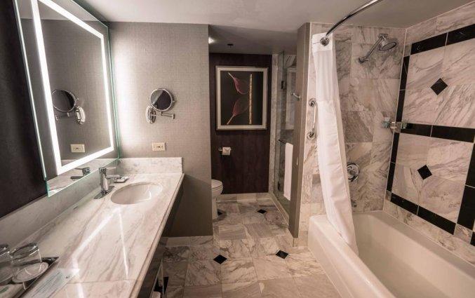 Badkamer van hotel MGM Grand
