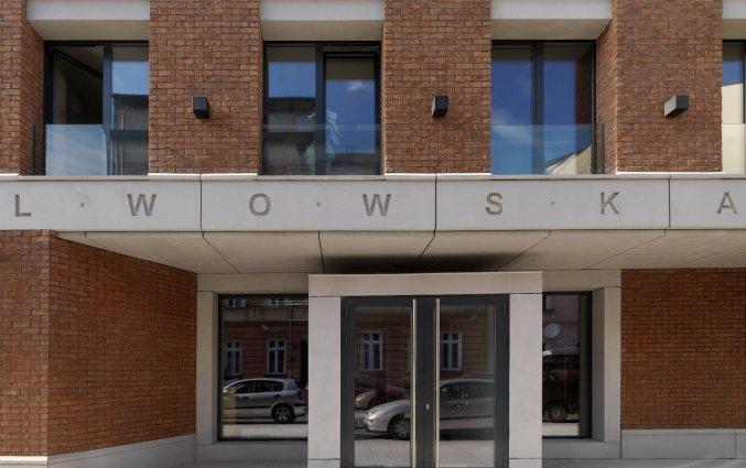 Hoofdingang hotel Lwowska1