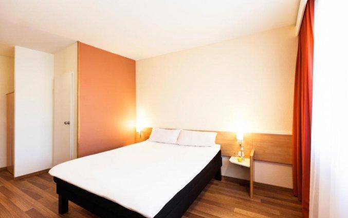 Slaapkamer van hotel Ibis Graz in Graz