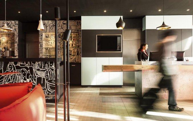 Balie van hotel Ibis Graz in Graz