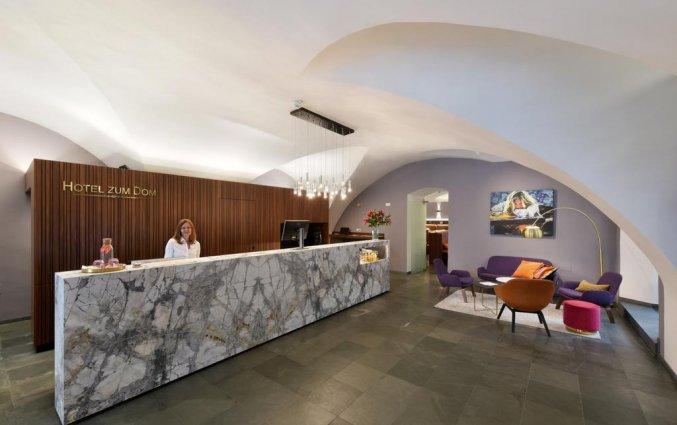 Receptie van Boutique Hotel Dom in Graz