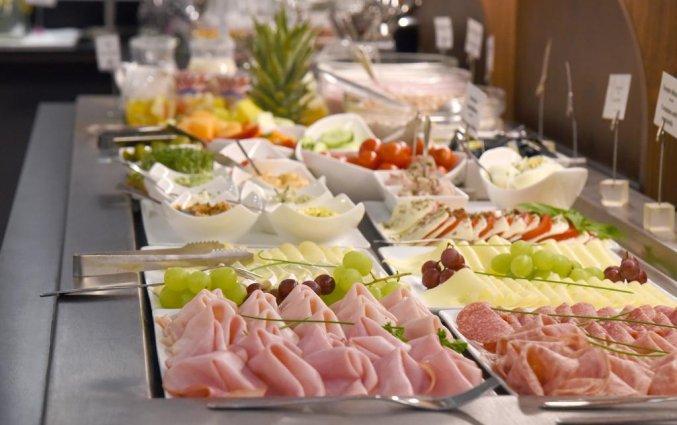 Ontbijtbuffet van Boutique Hotel Dom in Graz