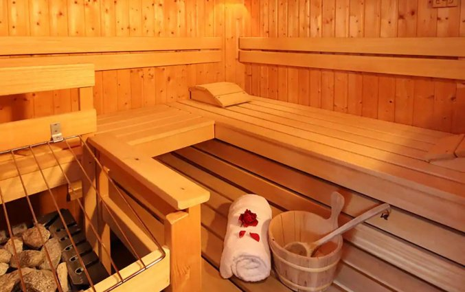 Sauna van Palais Hotel Erzherzog Johann Graz