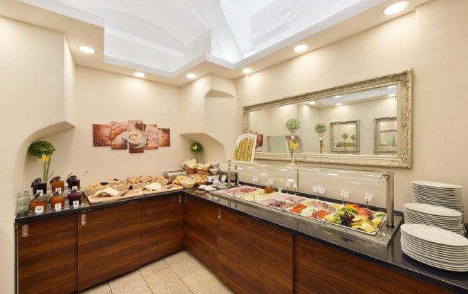 Ontbijtbuffet van Palais Hotel Erzherzog Johann Graz