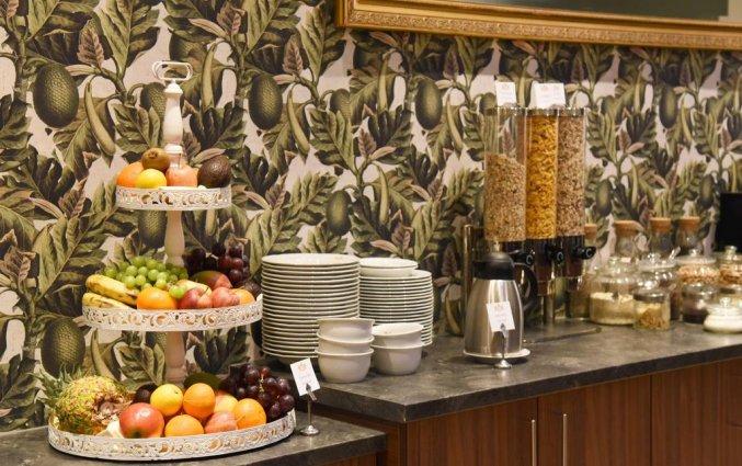 Ontbijt van Palais Hotel Erzherzog Johann Graz