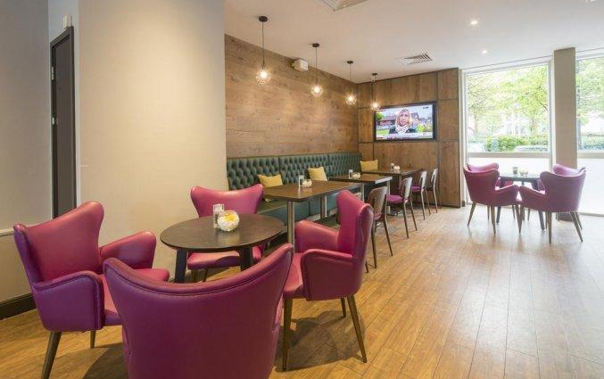 Lounge van Hilton Garden Inn City Centre in Bristol