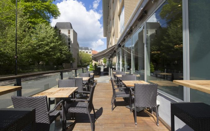 Terras van Hilton Garden Inn City Centre in Bristol