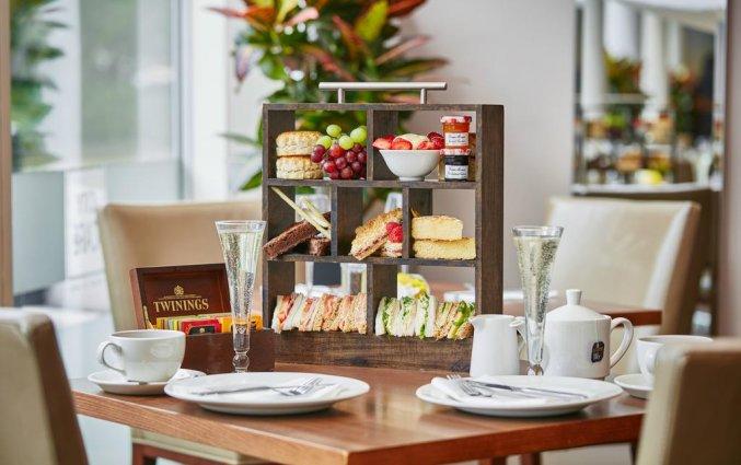 Ontbijt van Hilton Garden Inn City Centre in Bristol