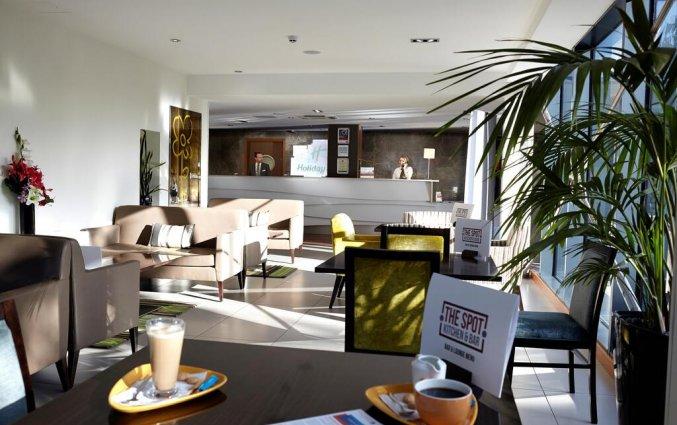 Het restaurant kitchen & bar The Spot van hotel Holiday Inn in Bristol