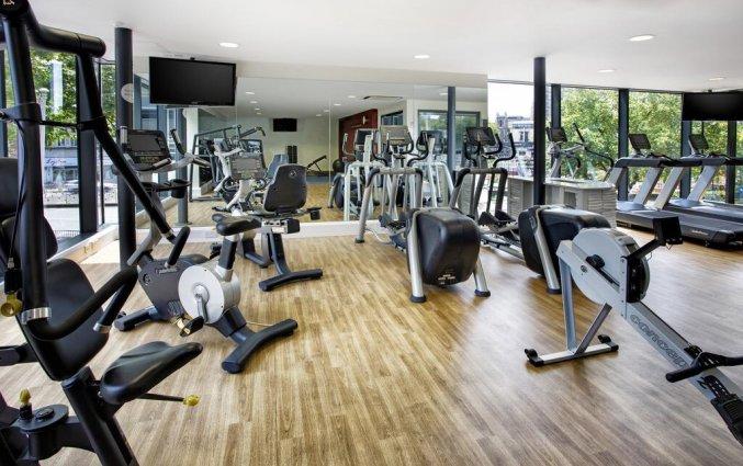 Fitnessruimte in hotel Holiday Inn in Bristol