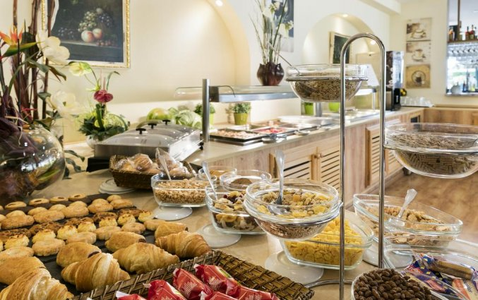 Ontbijt van Hotel Santa Ponsa Pins op Mallorca
