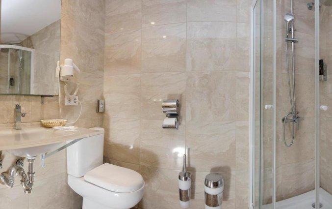 Badkamer van Hotel Santa Ponsa Pins op Mallorca