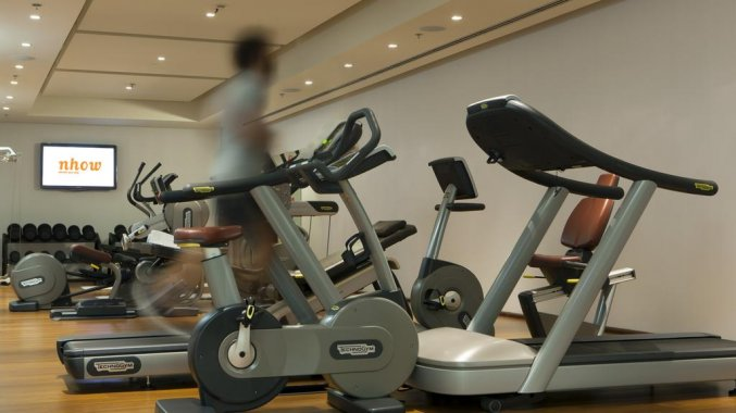 Fitnessruimte Hotel Nhow Milaan