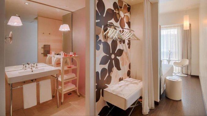 Badkamer Hotel Nhow Milaan