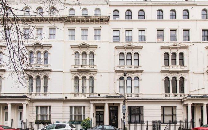 Gebouw van Hotel Kensington Gardens in Londen