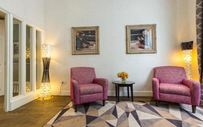 Lounge van Hotel Kensington Gardens in Londen