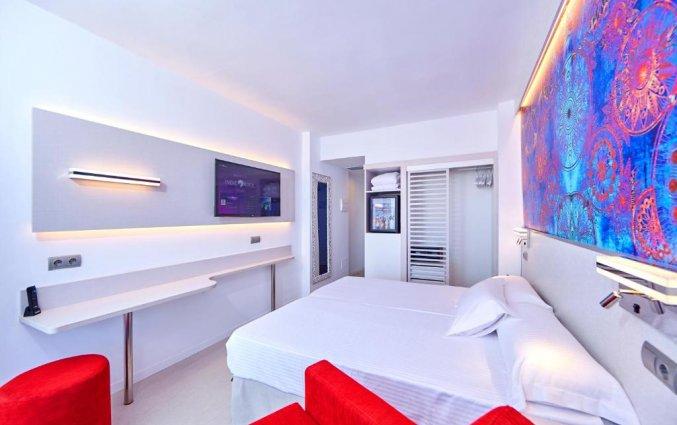 Tweepersoonskamer van Hotel Indico Rock in Mallorca
