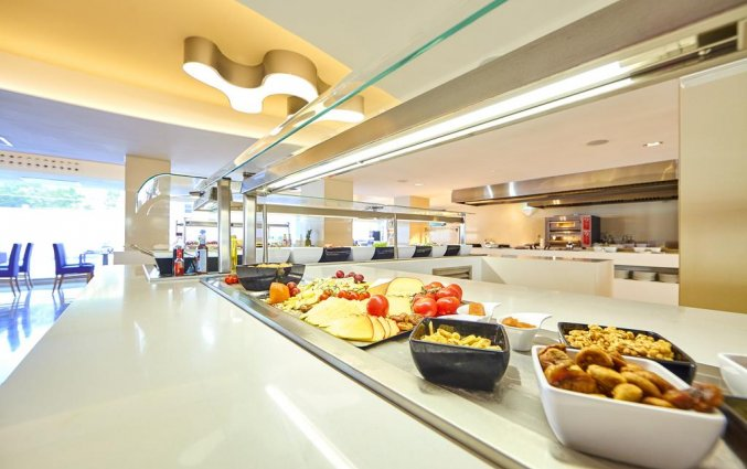 Ontbijtbuffet van Hotel Indico Rock in Mallorca