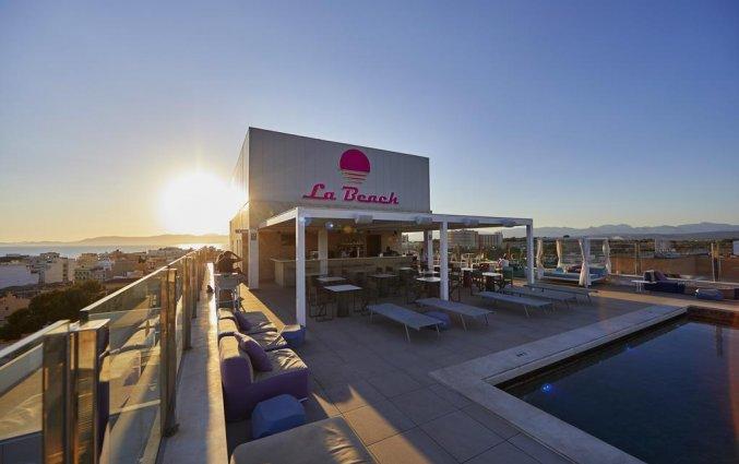 Dakterras van Hotel Indico Rock in Mallorca