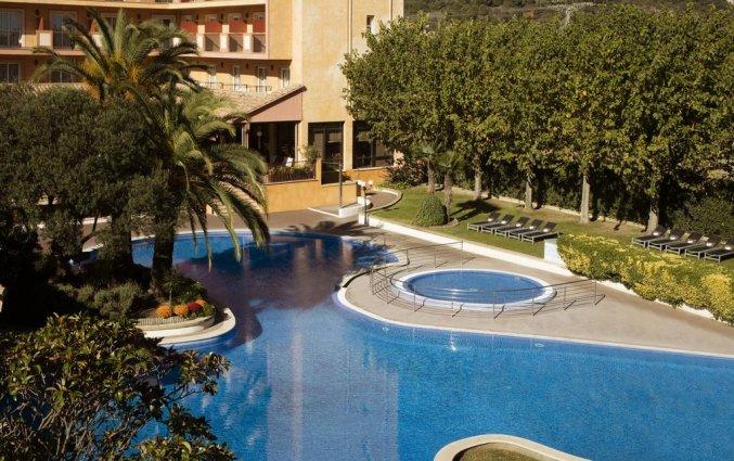 Uitzicht vanaf een kamer in Hotel Luna Park & Spa