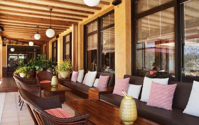 Zitgedeelte van Hotel Luna Park & Spa