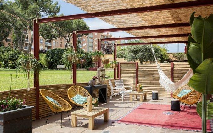 Relaxruimte van Hotel Luna Park & Spa