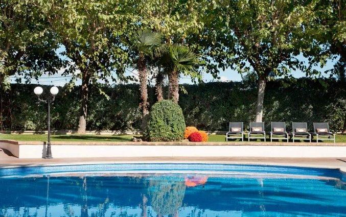 Zwembad en zonneterras van Hotel Luna Park & Spa