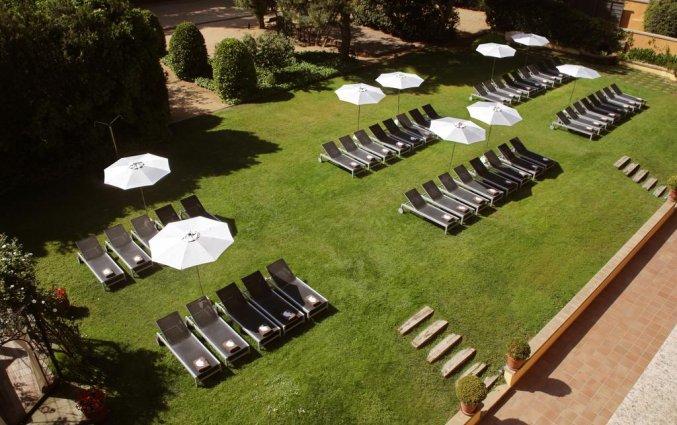 Zonneterras van Luna Club Hotel & Spa aan de Costa Brava