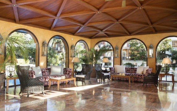 Lobby van Luna Club Hotel & Spa aan de Costa Brava