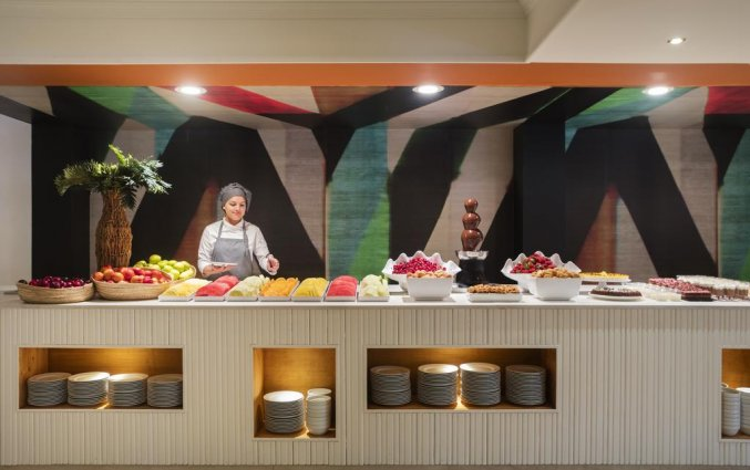 Buffet van Luna Club Hotel & Spa aan de Costa Brava